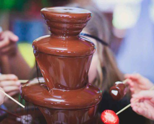 witte chocoladefontein